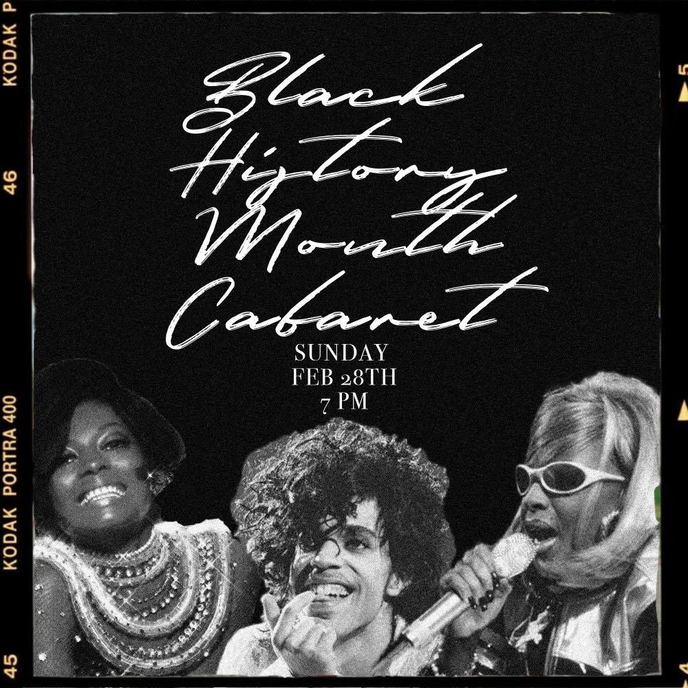School of Drama Black History Month Student Cabaret