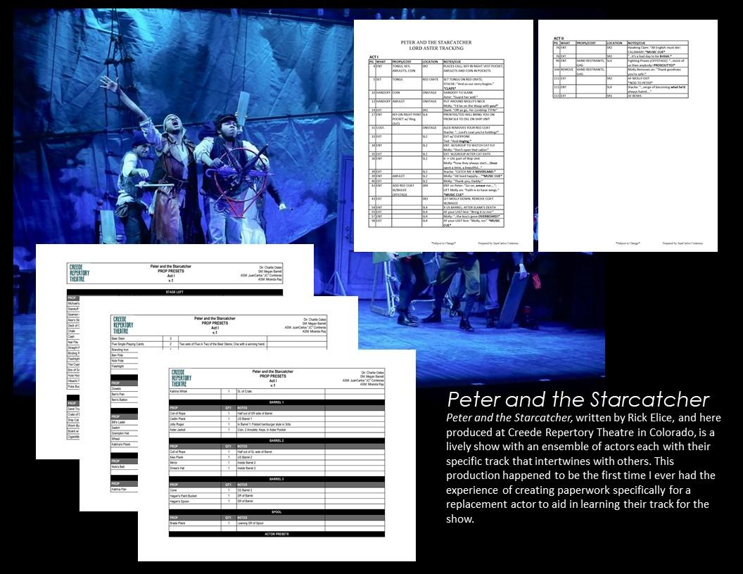 JuanCarlos Contreras - Peter and the Starcatcher portfolio