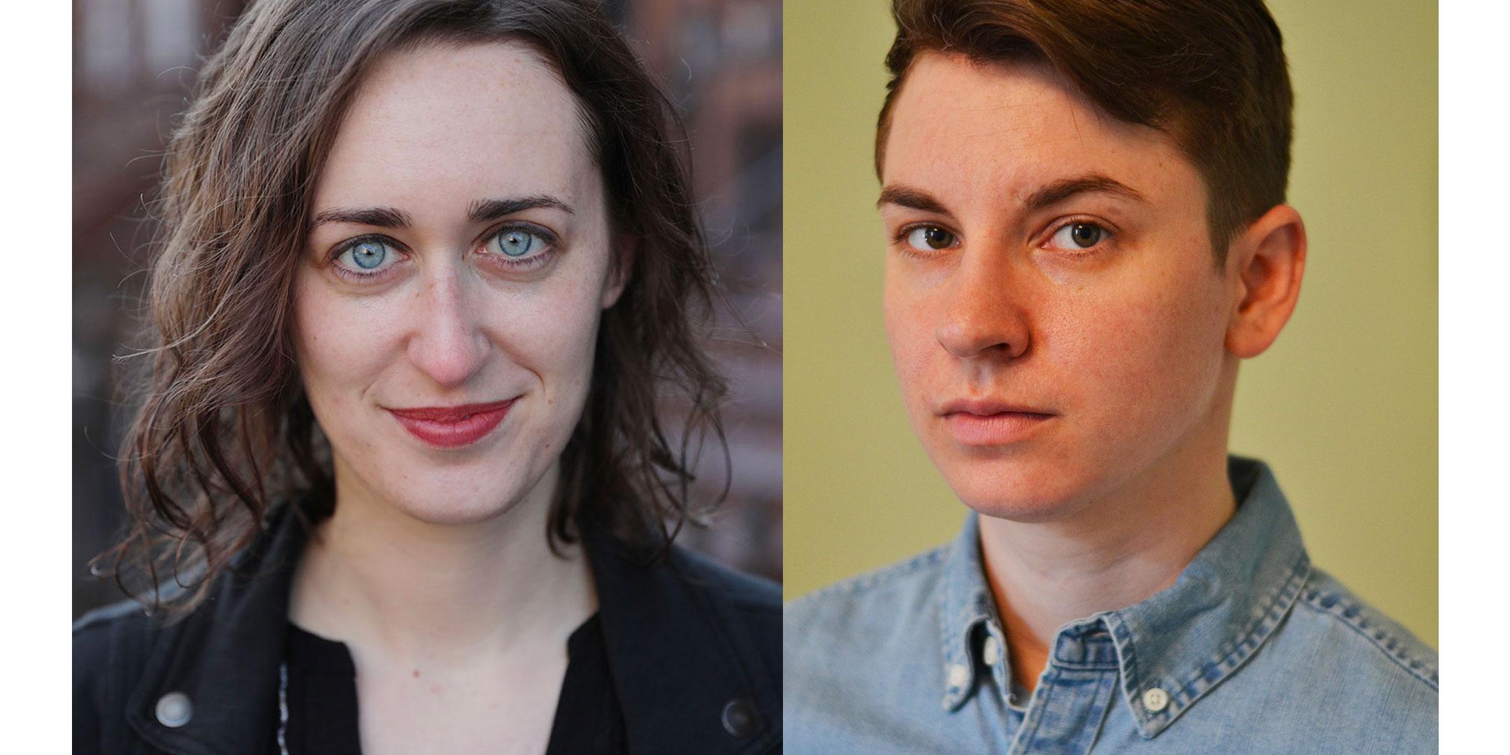 Pictured: Rachel Gita Karp and Lyam B. Gabel